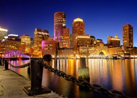 Boston Harbor by lonewolf565
