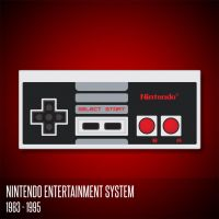 Nintendo Entertainment System Controller by deebeeArt