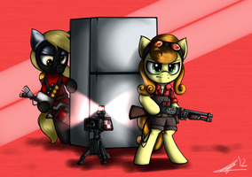 Fridge Guards by bigfatal21