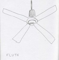 Ceiling Fan No. 1 by RoseSelavy