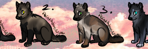 .:Adoptable Dog/Wolf set CLOSED:. by AdoptablesPoints