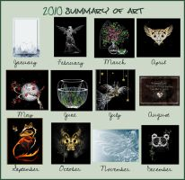 Summary of art 2010 by rockgem