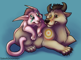 Alliance + Horde Druid Love by bawky