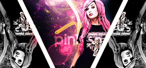Pink Hair Girl Signature by MeadowsDesigns