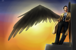 Angel of the lord by NellyMonster