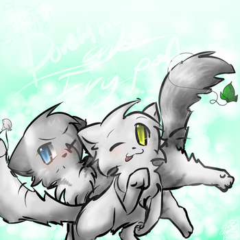 ..::Dovewing and Ivypool::.. by Kitzophrenic