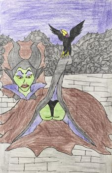 Maleficent's End by moguera2013