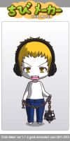 ChibiMaker R.O Scotty is angry by tigerclaw64