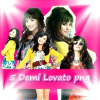 5 Demi Lovato png by Sara231