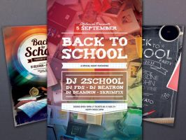 Back to School Flyer Bundle by styleWish