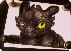 toothless by Telemaniakk