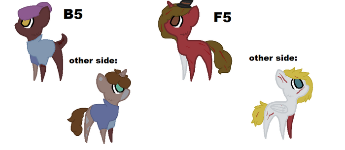 Breedable Results for SilentFeca by TheJekyllBrony