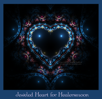 Jeweled Heart for Healersmoon by Jenna-Rose