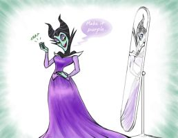 Maleficent aint so bad by QGildea