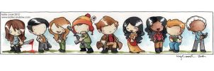 cute firefly cast by katiecandraw