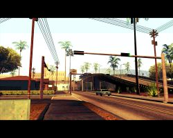Walking in San Andreas [ street ] by XDmoney