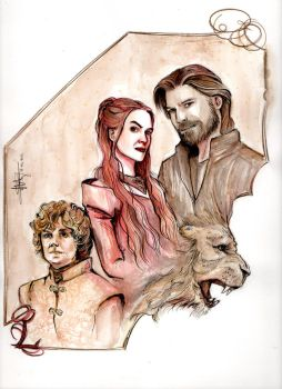 LANNISTERS by CamillE898