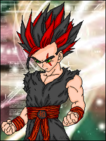 DBZ Evil Guy by AmethystRose15