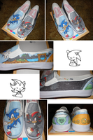 Sonic-Shadow: Omg shoes by LaPopeArmadillo