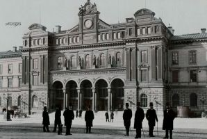 Central Station 1890 by Linnea-Rose