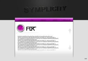 Web-D Simplicity Purple by Flok-0