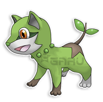 The Puppy Fakemon by Neliorra