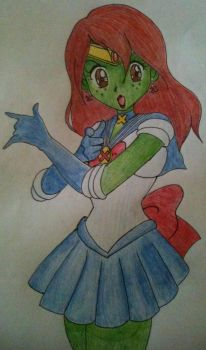 Sailor Martian by Perry-noid