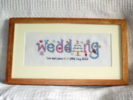 Wedding Sampler 2 by VickitoriaEmbroidery