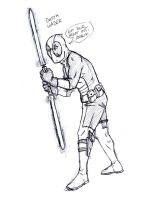 Deadpool Sketch by tatedoodles