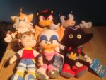 Sonic X Vol 1 and 2 Plush's by DarkGamer2011
