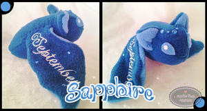 Little Litters - Sapphire - Plush by Sparkle-And-Sunshine