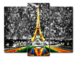 Paris Of My Dreams Limited edition giclee set of 3 by Leonidafremov