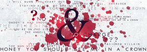 BBC Sherlock Moriarty Quotes Banner by Holophrasic
