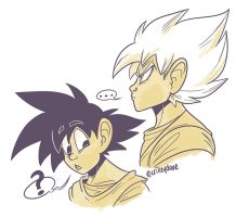 Son Goku by SupaCrikeyDave