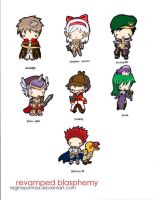 RB Chibis Part 3 Colorized by reginepetrola