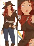 Piratess Vector art #05 by MindInChaos