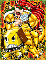 Bowser's Broggy Bonker by Bowser2Queen