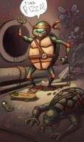 OMG TMNT by bonvillain