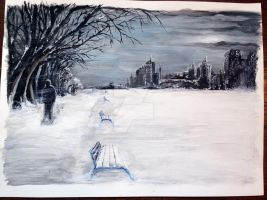 Winter Is Coming! by ChrisArt2014