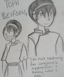 Toph Beifong -- Avatar Week Day 1 by JuneBug27
