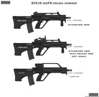 STEYR UAPR police version by ZiWeS