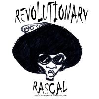 revolutionary rascal blog logo by sketchoo