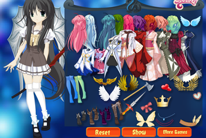 Dress Up Game by AT-Marceline