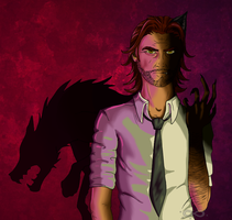 The Wolf Among Us: Bigby Wolf by HelixAbyss