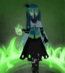 Human Queen Chrysalis by Ferchase