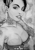Christy Mack 6 by KHUANTRU