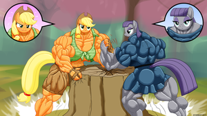 Rock Hard Earth Ponies Part IV. by Atariboy2600