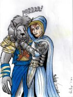 Ajani and Elspeth Color A by blademanunitpi