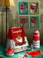 Warhol soup by funkwood