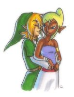 Link and Tetra: 'You and Me' by BeagleTsuin